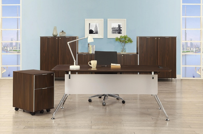 midcentury budget private office