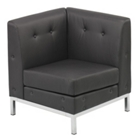 Wall Street Collection Corner Chair, CD00811