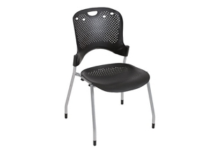 Light-Weight Modern Plastic Stack Chair, 51348