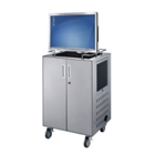 Deluxe Presentation Cart with Computer Monitor Mount, 43119