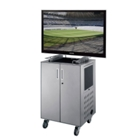 Deluxe Presentation Cart with Flat Screen TV Mount, 43120