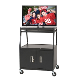 Wide-Body Flat Panel TV Cart, 43124
