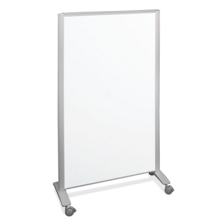 Mobile Room Divider with Reversible Whiteboard, 80287