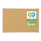 6'W x 4'H Eco-Friendly Cork Board, 80304