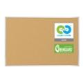 6'W x 4'H Eco-Friendly Cork Board, 80304