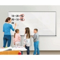 Projection Glass Dry Erase Board 4' x 4', 80727