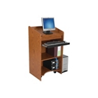 Mobile Lectern with Side Shelf and Keyboard Tray, CD04888