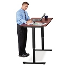 """Laminate Adjustable Height Table -  60""""W x 30""""D, 41885"""