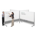 Set of Four Dual Sided Whiteboards, 80520