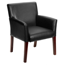 Modern Guest Chair with Extra Wide Seat, 50657