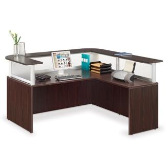 Neoterik Collection Reception L-Desk, 75957