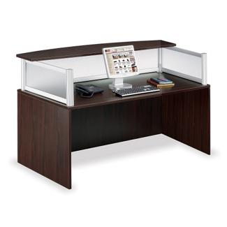 Neoterik Collection Reception Desk, 75958