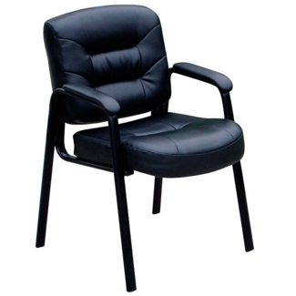 Bonded Leather Guest Chair, 75092