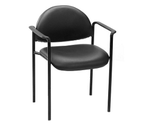 Vinyl Stack Chair with Arms, 50783