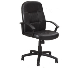 Mid-Back  Bonded Leather Conference Chair, 52353
