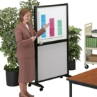 "Mobile White Board 36"" Wide, 80188"