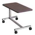 Low Height Overbed Table with H-Base, 25441