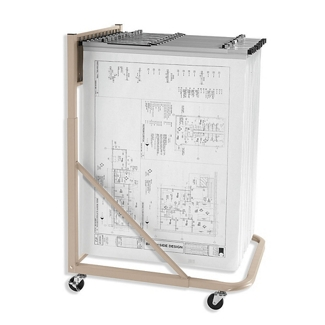 Rolling Large Format Document Stand, 70220