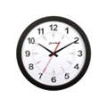 "Pluto 12"" Plastic Synchronized Clock, 85213"