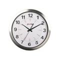 "Europa 12"" Aluminum Synchronized Clock, 85214"