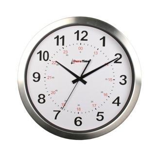 "Callisto 15"" Aluminum Synchronized Clock, 85216"