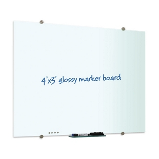 4' x 3' Glass Marker Board, 80307