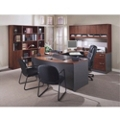 Complete Office Group U-Desk with Right Bridge, 13146