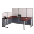 U Workstation w/Panels, WC36496-03K