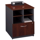 Compact Storage Unit with Lateral File, CD07265