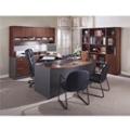 Complete Office Group U-Desk with Left Bridge, 86154