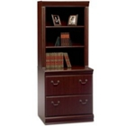 Harvest Cherry Lateral File with Hutch, CD07559