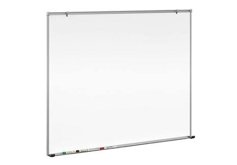 5' W x 4' H Porcelain White Board with Aluminum Frame , 80103