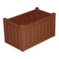 "Rectangular Planter Box - 14""H, 85898"