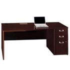 "72"" Wide Desk with Right Pedestal, 13196"