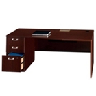 "72"" Wide Desk with Left Pedestal, 13201"