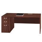 "72"" Wide Credenza with Left Pedestal, 13203"