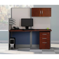 Computer Workstation Desk By Bush Abco Kathy Ireland Private