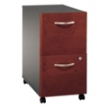 Mobile Two-Drawer Vertical File Pedestal, 30797