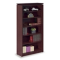"68""H 5 Shelf Wood Veneer Bookcase , 32954"