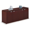 "Four Door Wood Veneer Storage Credenza - 72""W, 36405"