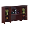 "Techno 70"" Wood Veneer Open Hutch, 36407"