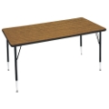 "Adjustable Height Utility Table 30"" x 72"", 41348"