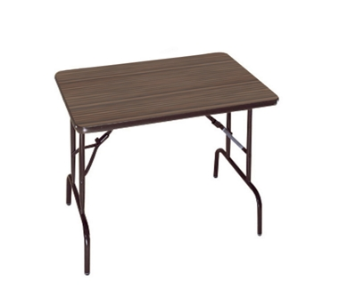 "Compact Folding Table with Casters - 36"" x 24"", 42002"