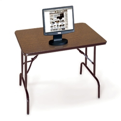 "Compact Folding Table - 36"" x 24"", 42001"