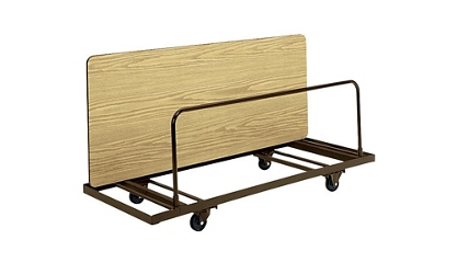 """Edge Stacking Table Truck 28"""" wide x 98"""" long, 46585"""