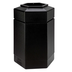 Hexagonal Waste Receptacle - 30 Gallon, 85870