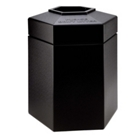 Hexagonal Waste Receptacle - 45 Gallon, 85871