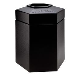 Hexagonal Waste Receptacle - 45 Gallon, 85871