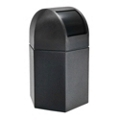 Dome Lid Hexagonal Waste Receptacle - 45 Gallon, 85872