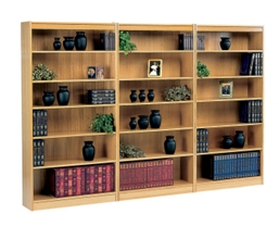 Square Edge Reinforced Bookcase Wall Set, 32349